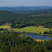 Вид с горы Аваасакса Финляндия :: Валентина Папилова