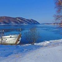 Зима у истока реки :: Анатолий Иргл