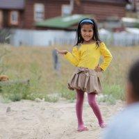 Анжела. Маленькая модель. :: Марина Влади-на