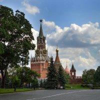 Спасская башня Московского Кремля :: Галина Galyazlatotsvet