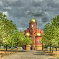 Часовня на бульваре 2 :: Алексей Меринов