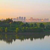 Восход над Харбином :: Александр Панкратов
