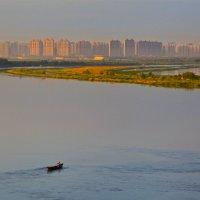 На реке и за рекой Сунгари :: Александр Панкратов