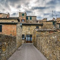 Сан-Куйрико дель Орча (San Quirico d Orcia). Италия :: Ашот ASHOT Григорян GRIGORYAN