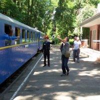 Поезд ВИШЕНКА - ЯБЛОНЬКА отправляется :: Сергей Рубан