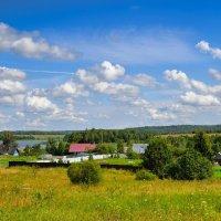 Деревенский пейзаж :: Милешкин Владимир Алексеевич