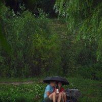 Нас Гидрометцентр не проведет! - У нас два зонта! :: Андрей Лукьянов