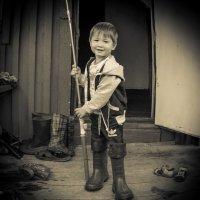Юный рыбак! :: Ирина Антоновна