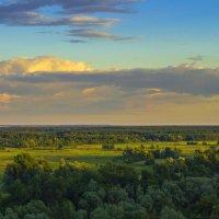 Облачно над лугом :: Сергей Корнев