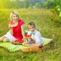 Солнечные арбузики :: Любовь Ахмедьянова