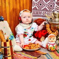 Матрешка :: Евгения Мартынова