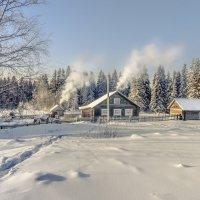 Мороз крепчает... :: Федор Кованский