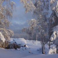 Просто зима :: Галина Подлопушная