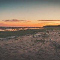 Закат на мысе 2 фото :: Александр Горбунов