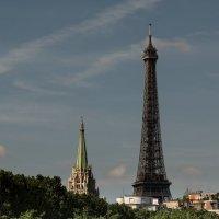 Парижское летнее утро :: Анастасия Елкина