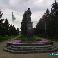 Памятник   борцам  за  волю  Украины  в  Ивано - Франковске :: Андрей  Васильевич Коляскин