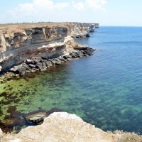 Бирюзовая вода Тарханкута :: Ольга Голубева