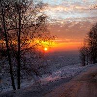 Восход над Невой :: Владимир Миронов