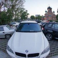 Москва. Парковка без зазоров. Бог сбережёт. :: Андрей Липов