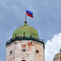 Выборгский замок, башня Олафа. :: Anna Gornostayeva