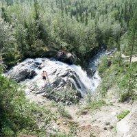 Хибинский водопад :: Александр Неустроев