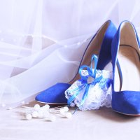 свадьба в синем :: Анна Бушуева