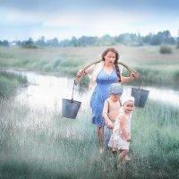 Утро в деревне :: Екатерина Бондаренко