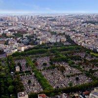 вид на кладбище Монпарнас :: Александр Корчемный