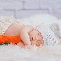 The white bunny.Newborn :: Ирина Горшенина