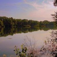 На озерке полдень. :: Мила Бовкун