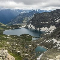 Горный Алтай     Озеро Алла Аскыр :: Александр Скалозубов