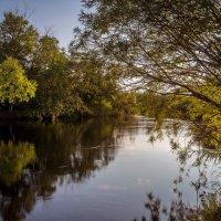 вечер на реке :: Сергей Сол