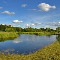 Речка,небо голубое..это наше,все родное..! :: Алла Кочергина