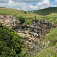Водопад. Тызылское ущелье, КБР :: Макс Сологуб