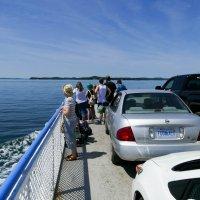 На пароме от острова Кампабелло на материк (Канада). :: Юрий Поляков