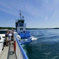 На пароме переправляемся через залив Fundy (Канада) :: Юрий Поляков