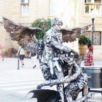 Барселона. Уличные артисты :: татьяна