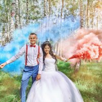 Свадьба Дениса и Карины :: Наталья Верхоломова