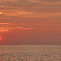 Пейзаж солнечного заката. :: Владимир Гилясев