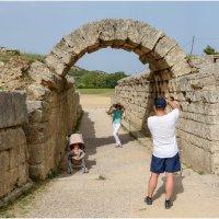 Греция, Древняя Олимпия. Первый олимпийский стадион. :: Jossif Braschinsky