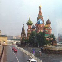На стекле капли,за стеклом - ливень.. :: Alexey YakovLev
