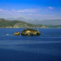 Турция. В бухте Фетхие с олимпийским мишкой на острове :: Андрей Левин