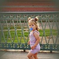 Топает малыш.... :: Nataly St.