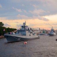 Корабли на Неве :: Наталья Левина