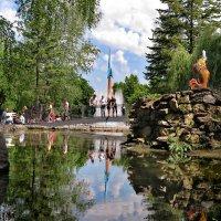 В городском парке :: Николай Бабухин