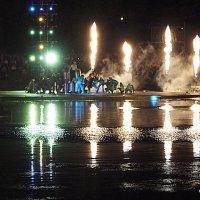 шоу на воде,с праздником ВМФ :: Олег Лукьянов
