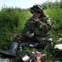 Гнус! Ни выпить,ни закусить,ни нужду справить! :: Евгений Усатов