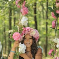 Цветочные качели :: Violafoto5