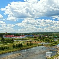 Красноусольский. Вид 2-й со смотровой площадки храма. :: Elena Izotova