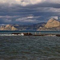 Морской пейзаж :: Александр Смольников